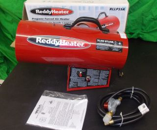 Reddy Heater 35,000 BTU Propane Forced Air Heater RLLP35A Portable