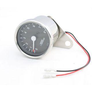 Stainless Steel 21 Ratio Custom Mini Tachometer Harley