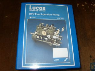 Cav DPC Fuel Injection Pump Workshop Manual ( Lucas Cav )