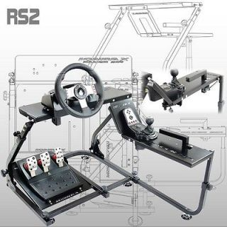 Steering Wheel Stand IONRAX RS2 G25 G27   Foldable Game Simulator for