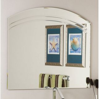 large frameless mirrors