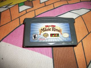 Jerry the Magic Ring Game Boy Advance Game Nintendo Gameboy GBA RARE