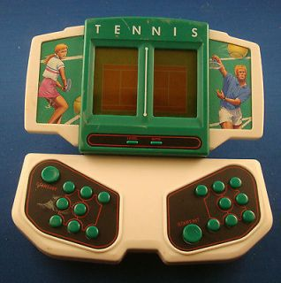 TENNIS ELECTRONIC HANDHELD ARCADE MACHINE SYSTEM TABLE TOP TRAVEL