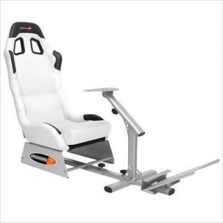 Playseats Evolution Game Chair in White and Silver 72001
