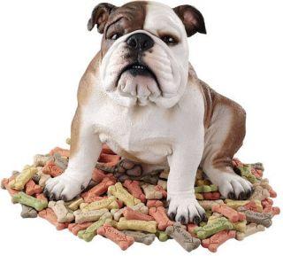 English Bulldog Statue Figure. Home Yard & Garden Dog Products Gifts