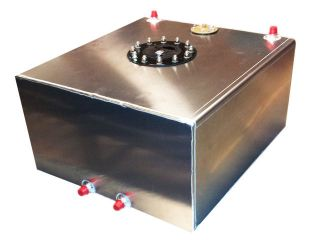 15 Gallon Aluminum Flat Bottom Fuel Cell With 0 90 Ohm GM Sending Unit