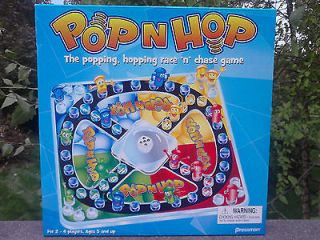 HOP   The Popping, Hopping Race N Chase Game Trouble Board Game 1704B