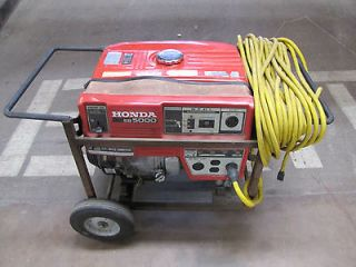 honda 5000 watt generator in Home & Garden