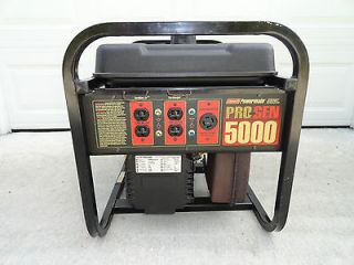 Coleman Powermate 5000 Generator Includes 50 Foot (cost $150.00) Power