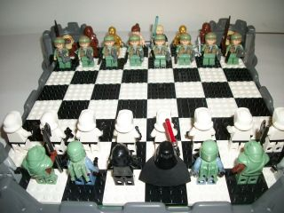 lego star wars chess in Sets