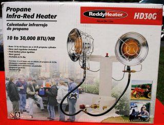 Reddy Heat Demon HD30G Infra Red 10 30,000BTU Double Tank top LP