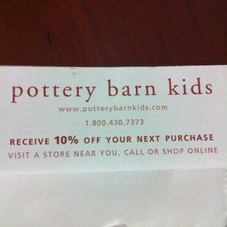 POTTERY BARN gift card in Gift Cards