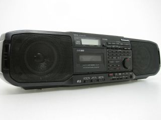Panasonic RX DS30 BoomBox Portable Stereo Cassette Player Recorder