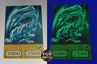 Glow in the Dark ♔ 1x Blue Eyes White Dragon ♔ YuGiOh TV Show