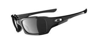 Oakley Five Squared Polished black with Black Iridium Polarized
