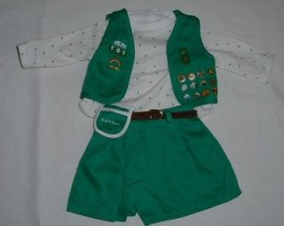 American Girl Pleasant Company retired Junior Girl Scout uniform