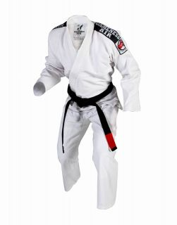 G1200 Gameness Air Gi White Brazilian Jiu Jitsu Uniform ultra light