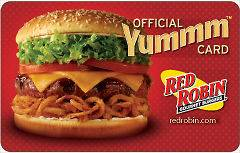 red robin gift card in Gift Cards & Coupons