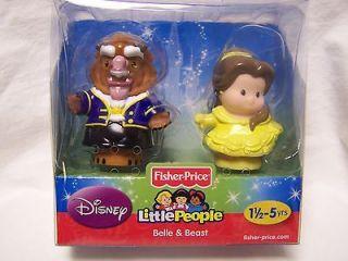 Fisher Price DISNEY PRINCESS Little People ~ BELLE & BEAST ~ Beauty