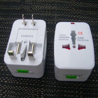 Global Universal Travel Plug Converter Adaptor AC Power