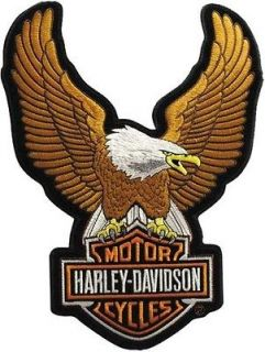 Harley Davidson XL american Upwing Eagle with bar Shield Back patch