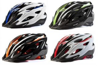 MENS CYCLE BIKE BICYCLE HELMET MOUNTAIN BIKE ROAD HELMET INMOLDED