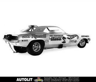 1970 Plymouth Hemi Barracuda Factory Photo