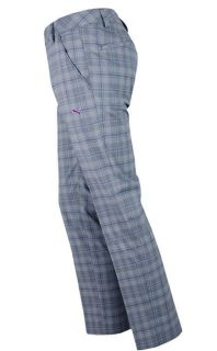 NWT PUMA GOLF PLAID TECH PANTS 32, 34, 36 CASTLEROCK GREY FALL