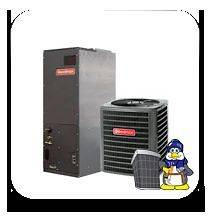 Ton 3.5 ton 13 seer HEAT PUMP 410a Goodman Complete System