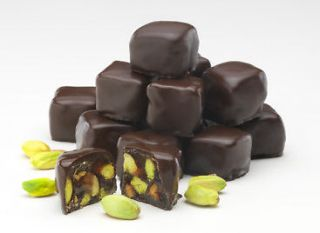 Delight , Chocolate Coated Pistachio / Rose Flavoured, Gluten Free