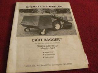 john deere grass bagger in Parts & Accessories