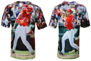 # 32 RANGERS MLB THREE60 FULL GRAPHIC Performance Fabric Shirt XL