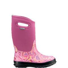 52505 pink classic high Tuscany rain, mud, snow, rubber, gum boot