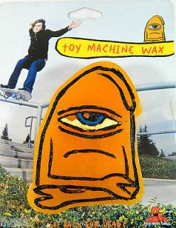 Toy Machine King Size Secret Orange Curb Graphic Wax