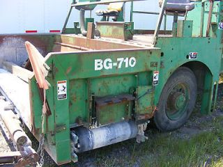 Barber Greene BG 710 Road Widener   1994 Berm Box BG 710 or for RENT