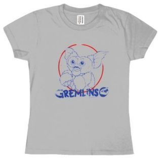 New Authentic Gremlins Gizmo Circle Juniors Tee Shirt