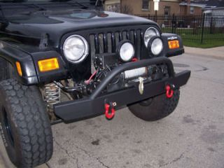Wrangler Front Offroad Winch Bumper, Brush Guard (Fits Jeep Wrangler