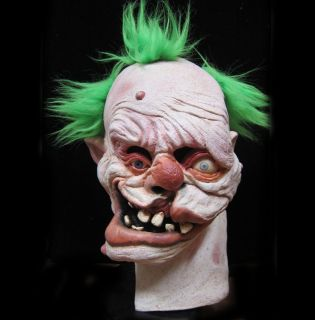 Mutant Gummo Deformed Evil Clown Adult Latex Full Head Halloween Mask