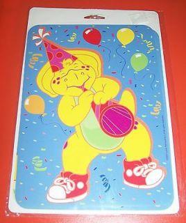 Print Hanging Birthday Decorations 4 Designs BJ Baby Bop BARNEY NIP