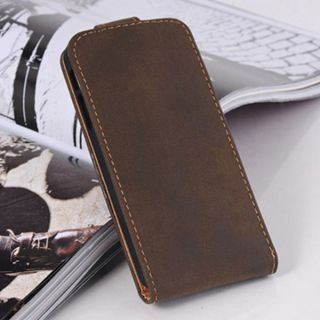 Unisex Men PU Leather Case Cover Bumper Wallet Bag For Iphone 5 5G