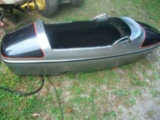 HARLEY DAVIDSON STOCK SIDE CAR BODY ONLY