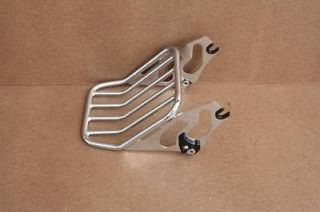 NEW LUGGAGE RACK 4 BACKREST AND SISSY BAR HARLEY TOURING ROAD KING