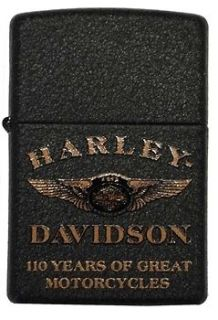 Harley Davidson Limited Edition 110th Anniversary Zippo Lighter. 28417