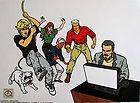 Hanna Barbera JONNY QUEST Large Animation Sericel Cel RARE