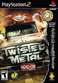Twisted Metal Head On Extra Twisted Edition (PlayStation PS2)