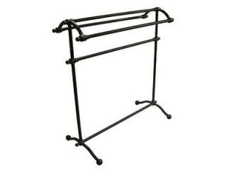 Kingston Brass CC2295 Free Standing Towel Rack Oil Rubbed Bronze