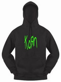 KORN HEAVY METAL ROCK PULLOVER HOODIE HOODED TOP