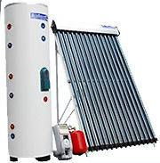 15 Vacuum Tube Solar Water Heater Seperated Tank System Electric SRCC