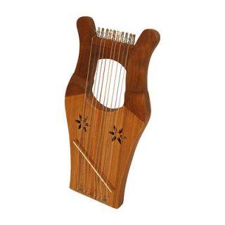 Mid East 16 10 String Mini King Davids Kinnor Harp