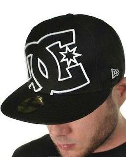 COVERAGE Hat MENS NEW ERA SPORT BLACK CAP HAT size 7 3/8 58.7 cm